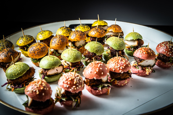 Office Catering Sliders